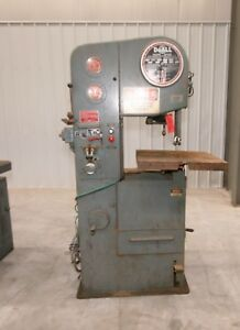 11976 Doall 16 Vertical Bandsaw Model 1612 1