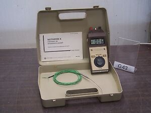 Chauvin Arnoux Nutherm k Thermometer Thermometer In Box G43