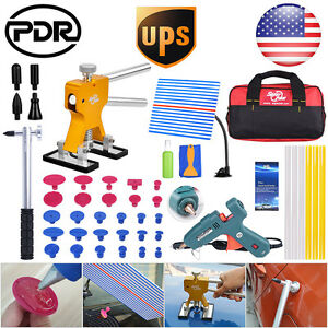 Pdr Car Charger Glue Gun Paintless Dent Repair Removal Tools Dent Lifter Puller