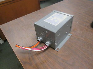 Sebco Low Voltage Lighting Transformer 1108 Pri 120v 50 60hz Sec 12v 150w Used