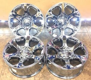 20 20 Inch Pvd Chrome Dodge Ram 1500 Laramie Big Horn Wheels Rims 2454 4 set