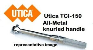 Utica Tci 150 Click type Torque Wrench Plain Head 30 150 In lb New Free