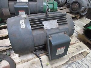 Toshiba Type Ikkh Motor 0152xdsb42a p 15hp 3530rpm 460v 18a 254tc Frame Used