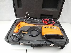 Ditch Witch Subsite Utiliguard T5 Underground Metrotech Cable pipe Locator Clean