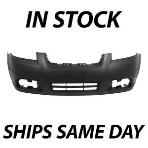 New Primered Front Bumper Cover Fascia For 2007 2011 Chevy Aveo Sedan