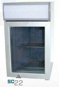 Commercial Counter top Display Cooler W light sc 22