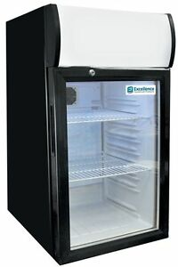 Commercial Counter top Display Cooler W light sc 80