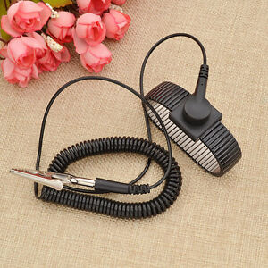 1 Pc Anti Static Wrist Strap Esd Discharge Band Pretect Static Shock Electronic