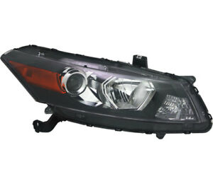 Headlight Assembly W bulb Right Passenger Side For 2011 2012 Honda Accord Coupe