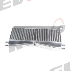 Rev9 V1 Universal Twin Turbo Intercooler Fmic 28x12x3 400 800hp 2 In 1 Out