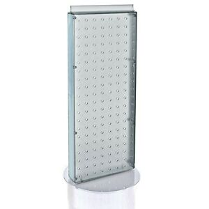 Azar 700509 clr Pegboard Two sided Non revolving Counter Display Clear Transluc