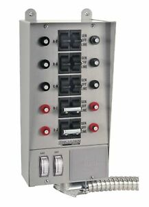 Reliance Controls 51410c Pro tran 10 circuit Indoor Transfer Switch Pack Of 1