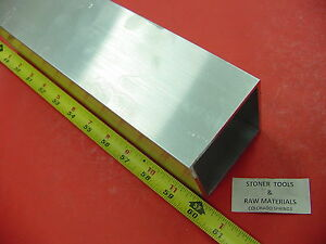 3 x 3 x 1 8 Wall X 60 Long Aluminum Square Tube 6063 T52 3 Sq X 125
