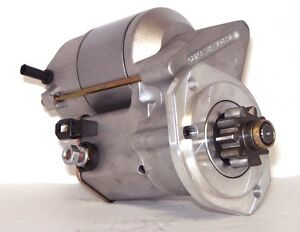 Early Ford Flathead 12 Volt High Torque Mini Race Starter Aluminum Flywheel