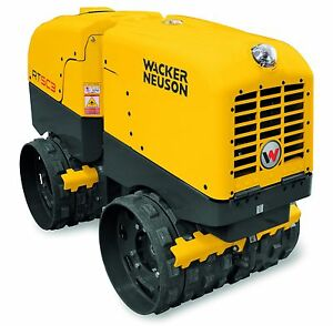 Wacker Rtlxsc3 Trench Roller New Trench Compactor Rt82 Rt56 Kohler Lombardini
