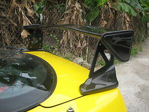 Carbon Fiber Mugn Rear Spoiler Wing Type r Dc2 Fit For Honda Acura Integra Coupe