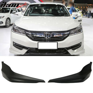 Fits 17 Honda Accord Sedan Hybrid Only Hfp Style Front Bumper Lip 2pc