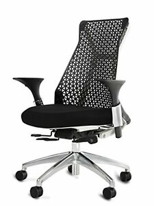Black Ergonomic Modern Contemporary Executive Task Managers Office Chair
