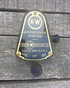 Original Kw Ignition Switch For K W Coil Box Model T Ford