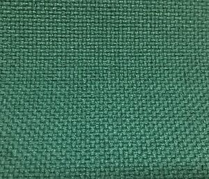 Best Forest Green Tweed Fabric Upholstery Mid Century Modern Vintage Danish
