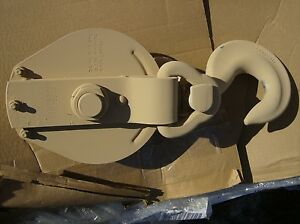 10 Ton Snatch Block 5 8 Wire Rope 4 Ton Ligting Ulven Manufacturing New