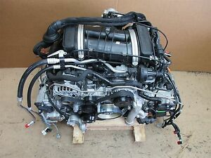 16 Boxster Rwd Porsche 981 Complete Engine 2 7 Motor 9a1 10 9a1 10 8 781
