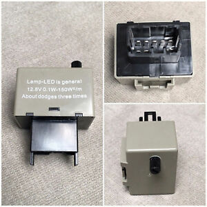 8 Pin Adjustable Led Flasher Relay Hyper Blink Fix For Toyota Turn Signal Light