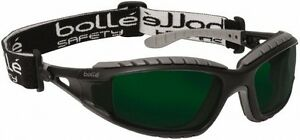 Bolle Safety Green Lenses Scratch Resistant Framed Welding Glasses Black gr