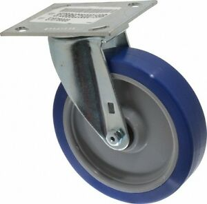 E r Wagner 6 Inch Diameter X 1 1 2 Inch Wide Swivel Caster With Top Plate M