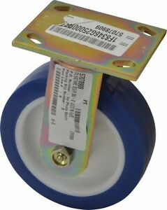 E r Wagner 6 Inch Diameter X 2 Inch Wide Rigid Caster With Top Plate Mount