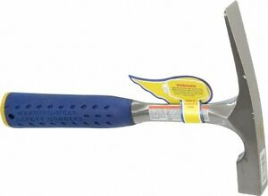 Estwing 1 1 2 Lb Head Bricklayer s Hammer 11 Oal Steel Handle With Grip 53