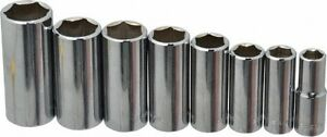 Blackhawk By Proto 8 Piece 3 8 Drive Deep Well Socket Set 6 Points 3 8 To