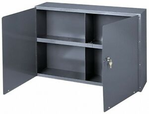 Durham 1 Shelf Wall Storage Cabinet Steel 33 3 4 Wide X 8 1 2 Deep X 22 1