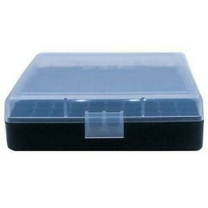 AMMO BOXES (1) CLEAR 100 Round 9MM  380 - Berry's Plastic Container