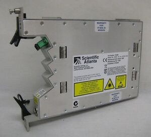 Scientific Atlanta 1310nm Fiber Optic Forward Transmitter 736389 Tested Working