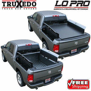Truxedo Lo Pro Roll Up Tonneau Cover For Ram 1500 2500 3500 6 4 Bed W Rambox