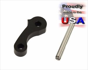 Billet Window Latch Hinge Pivot For 95 04 Tacoma 00 06 Tundra Rear Quarter Bl