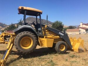 2003 John Deere 710g Backhoe Extend A Hoe 6000 Hours