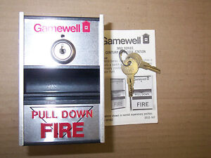 New Gamewell M69 5 M69 Series Fire Alarm Pull Station With Keys