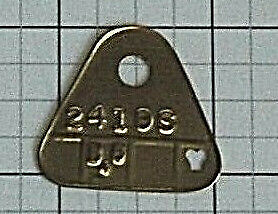 1956 2362s 2419s G6 Dated Dual Quad Carb Tags Corvette Chev
