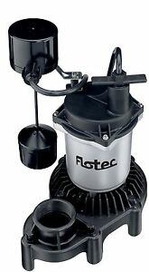 Flotec Fpzs33v 1 3 Hp Flotec Sump Pump High output Performance