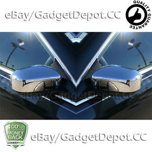 For 2003 2004 2005 2006 2007 Honda Accord Chrome Covers Combo Side Mirror Cover
