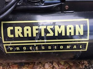 Craftsman Horizontal Tank 3 5 Hp 25 Gal 175 Psi Compressor Professional Series