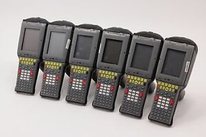 6 X Psion Teklogix 7530 G1 Terminals 6 Batteries 1 X Hu3006 Charger