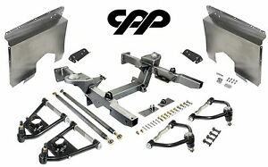 66 67 Chevy Nova Ifs Mustang 2 Front End Crossmember Tubular Arms Fender Panels