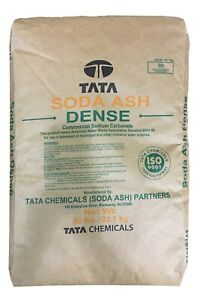 Soda Ash Dense 99 5 Pure Min 50lb Bag