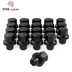 20 Black 14x1 5 Mag Lug Nuts For Land Rover Range Rover Discovery Wheel Rim
