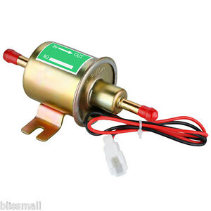 New Gas Diesel Fuel Pump Inline Low Pressure Electric Fuel Pump 12v For Toyota