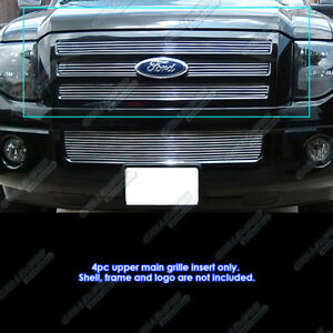 Fits 2007 2014 Ford Expedition Billet Grille Grill Insert
