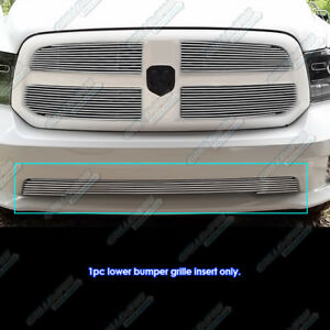 Fits 2013 2017 Ram 1500 Express And Sport Model Only Billet Grille Inserts